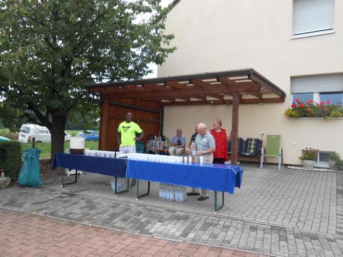 Getränkestation direkt vor der Haustür :-)