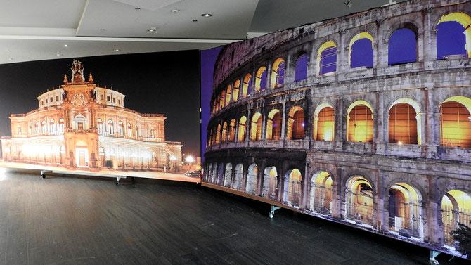 Das ist jetzt ja wohl Programm: Solingen wird Metropole, Weltstadt sind wir ja schon, Rom, Dresden, Solingen ... - - - die Wahlergebnisse im Theater wurden mit einem theatralischen Prospekt eingeleitet.