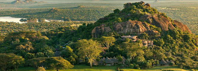 Il Ranch nella Riserva privata Ol Jogi Laikipia Plateau. Kenya
