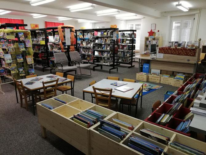 Schul-und Gemeindebibliothek Uerkheim - Eintritt