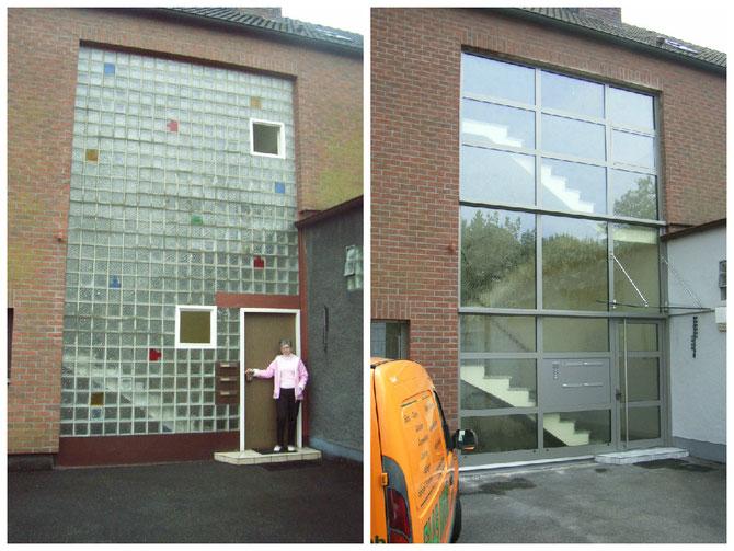 Foto: Fensterfront nach Renovierung durch Glas Boog