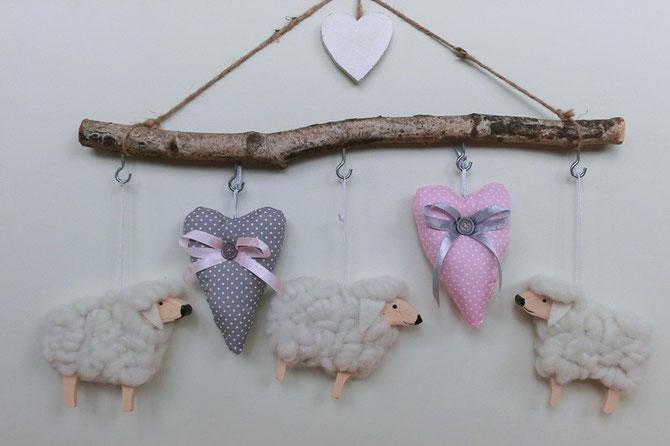 Schafe hängen ab