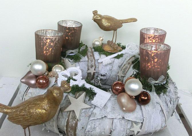 """Adventskranz """"Der goldene Vogel"""""""