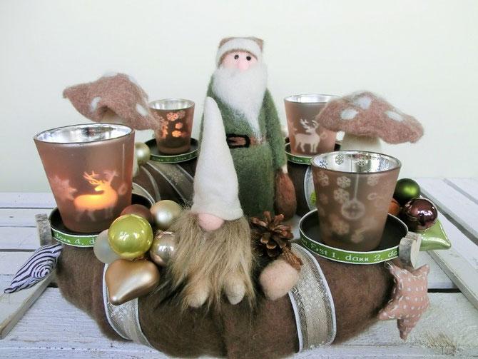 Adventskranz Lieber guter Nikolaus, 35 cm, Preis € 76,-