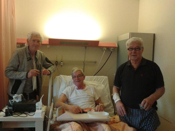 v.l.n.r. Ko Jonkman, Toon Vermeer en Bert Swinkels.