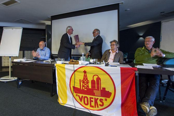Cees van Terheijden neemt afscheid als secretaris