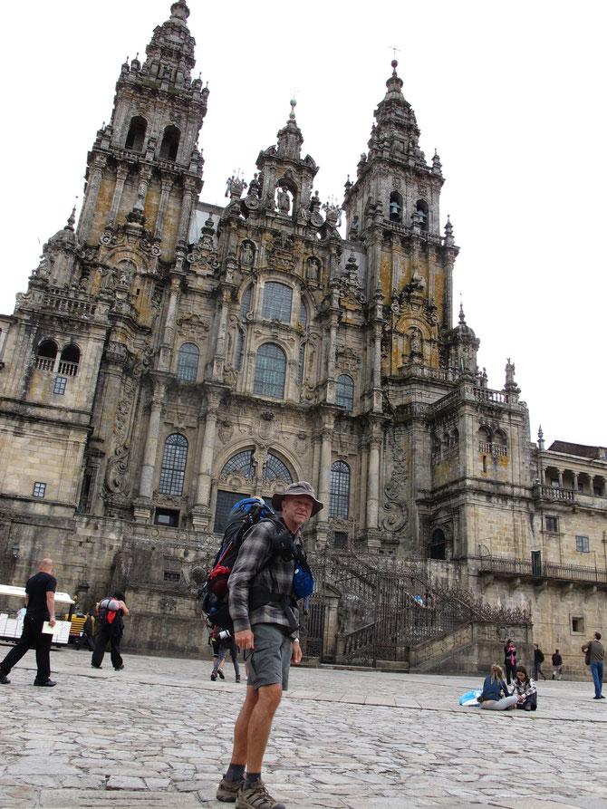 Angekommen in Santiago de Compostela