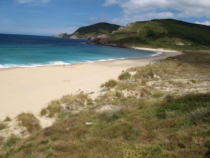 Einsamer Strand vom Finisterre.