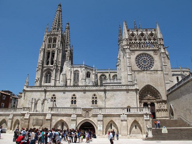 Prächtige Kathedrale in Burgos, UNESCO Weltkulturerbe