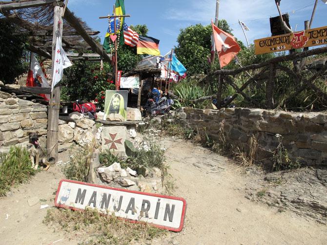 Der Betreiber von Manjarin Herberge sieht sich als der Nachfolge der Tempelritter.