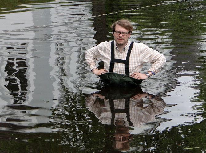 Und das, obwohl sein Tierkreiszeichen nicht der Wassermann ist!
