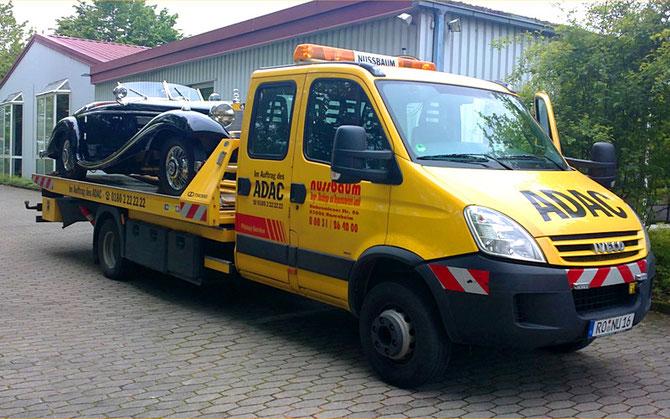Odltimer Transport durchgeführt durch die Firma Nussbaum