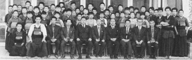 昭和40年 寒稽古記念写真