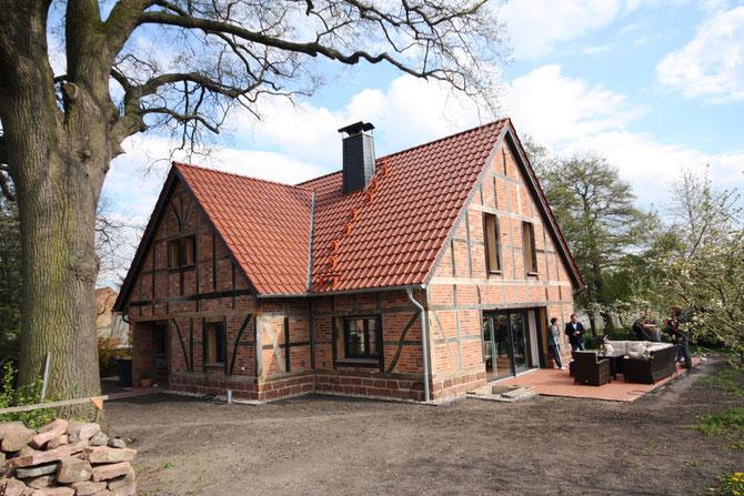 Neubau Einfamilienhaus in Bülstringen - Entwurf Bauplanungsbüro Uwe Müller