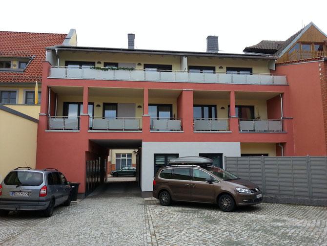 Neubau Mehrfamilienhaus in Haldensleben - Entwurf Stefan Ludwig