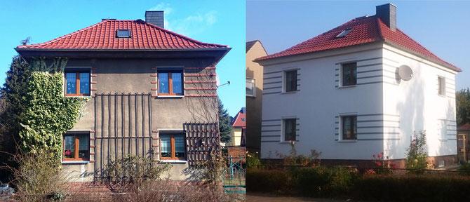 Fassadensanieung in Haldensleben