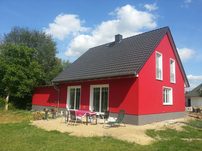 Neubau Einfamilienhaus in Calvörde 2013 - Entwurf: Stefan Ludwig