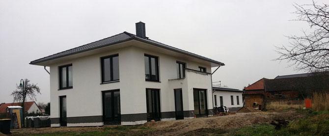 Neubau Einfamilienhaus in Zobbenitz - Entwurf: Stefan Ludwig