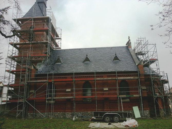Sanierung Kirche in Jersleben