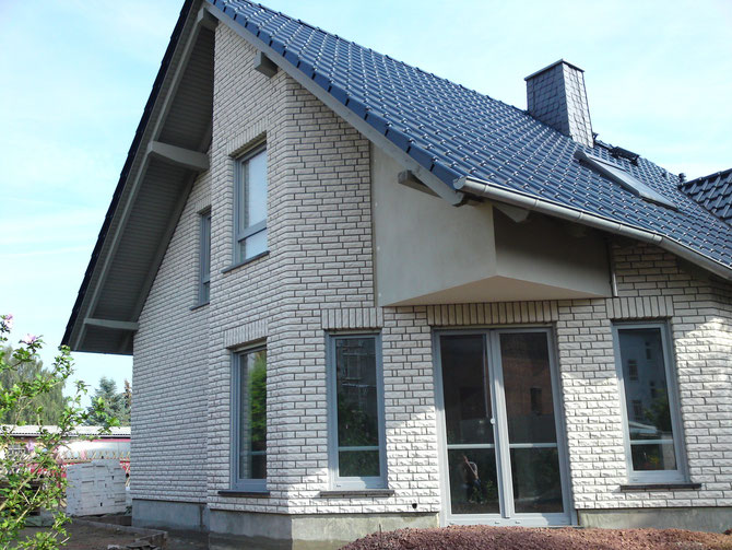 Fassade EFH in Haldensleben