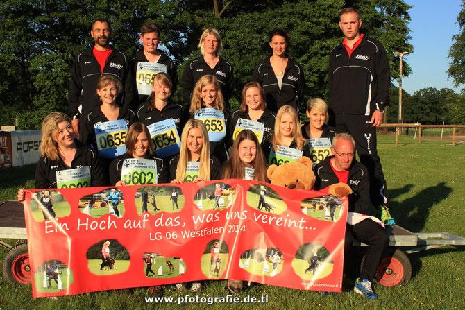 DJJM 2014 - Mannschaft mit Mannschaftsführern!