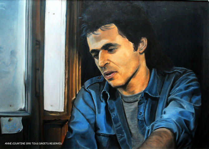 Jean-Jacques, 1991, 65c50 cm, collection privée.