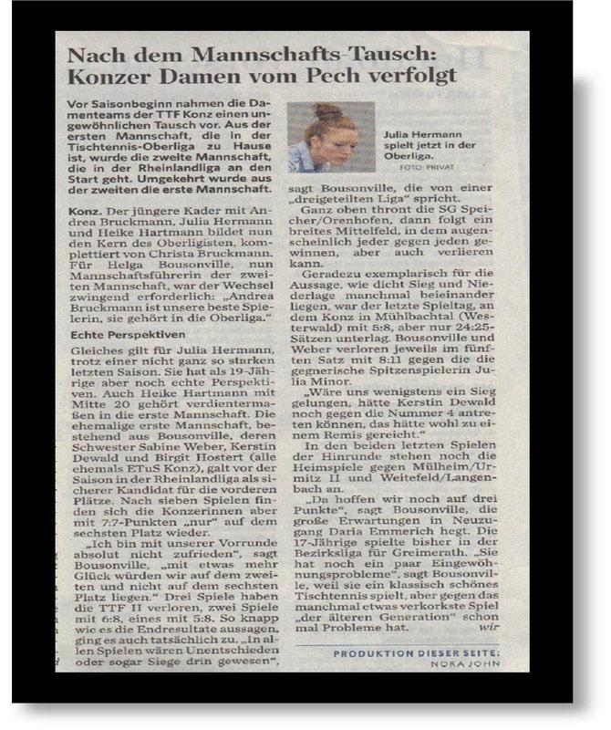 Quelle : Trierischer Volksfreund - 8.11.2012