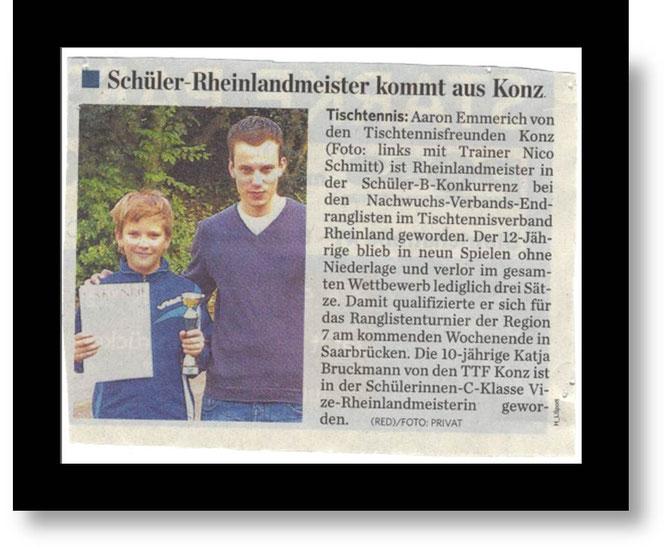 Quelle : Trierischer Volksfreund