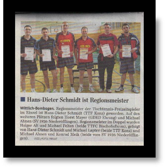Quelle : Trierischer Volksfreund - 9.11.2012