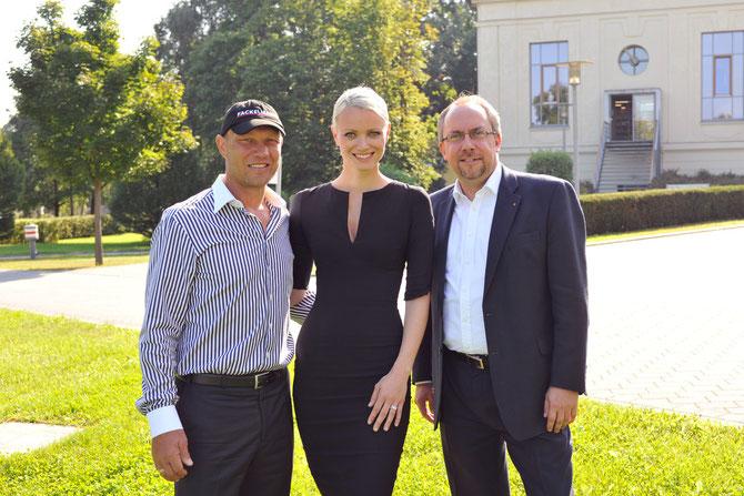 Franziska Knuppe und Axel Schulz sind Botschafter der TULIP-Initiative gegen Parkinson