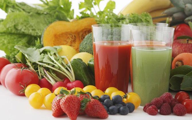 Centrifugato di frutta e verdura