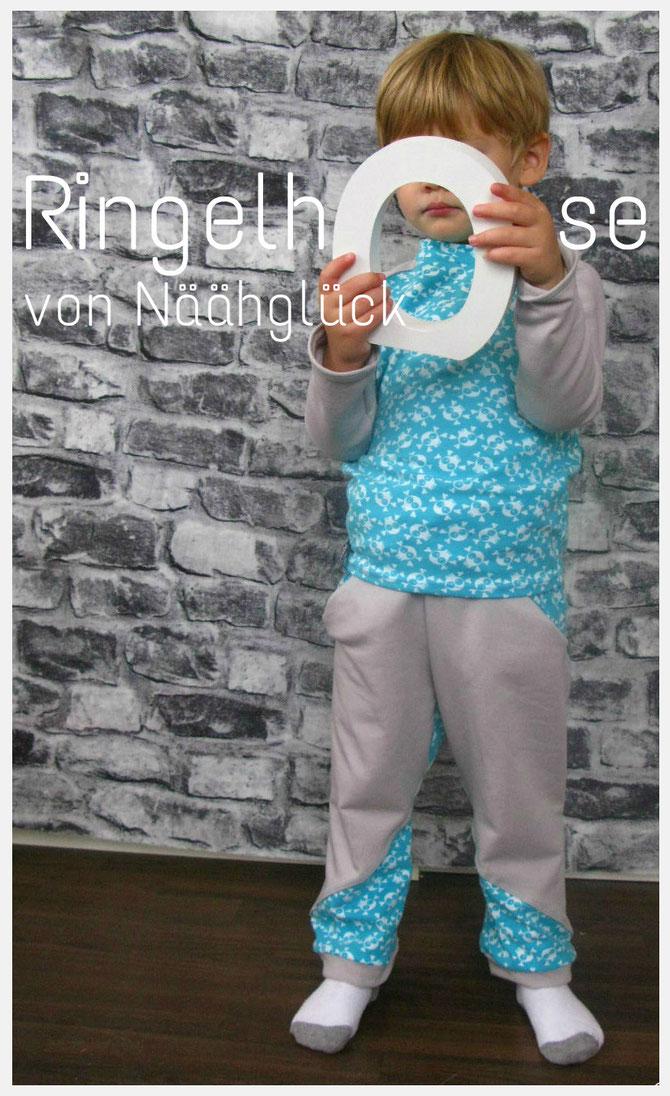 Ringelhose von Näähglück by Sophie Kääriäinen