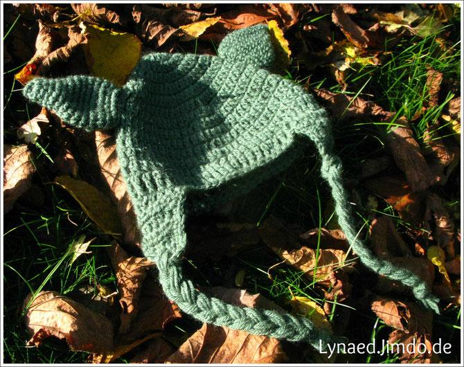 gehäkelte Yoda-Mütze