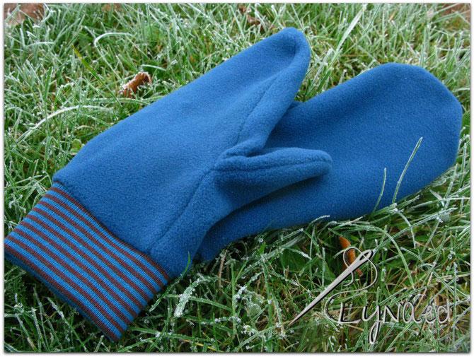 Damen-Fleece-Handschuhe von Näähglück