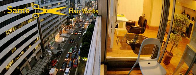 HP写真撮影:青山・表参道の美容院、サムズヘアーワークス様