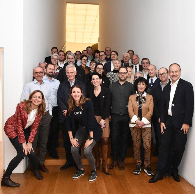 LGE goes art - ein weiterer denkwürdiger Anlass des LG-Ehemaligen Vereins