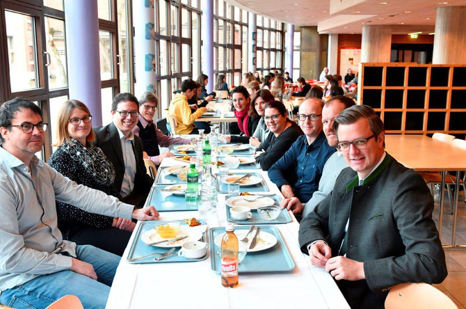 EME: Ehemaligen-Mensa-Essen am LG Vaduz