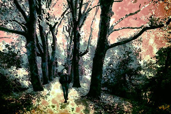 Herbsttag, Canvas 60 x  90 cm