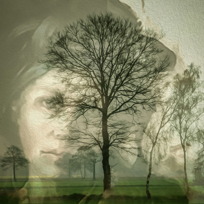 Martha, aus der Serie Dream, Canvas 60 x 60 cm