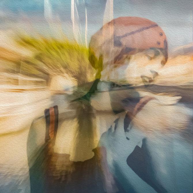 Imagine I, aus der Serie Dream, Canvas 60 x 60 cm