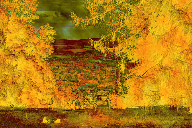 Naherholung, Canvas 60 x 90 cm