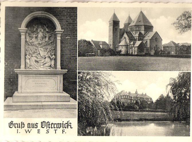 Eine alte Osterwicker Postkarte.