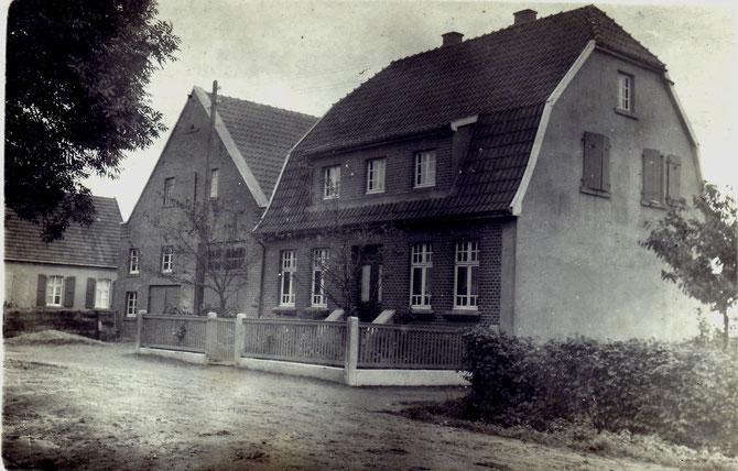 Haus Wilger und Isfort im Jahr 1930