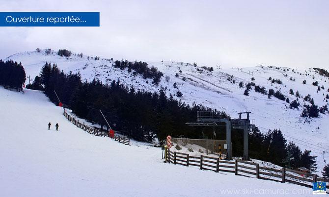 Station de ski de Camurac - Ouverture reportée