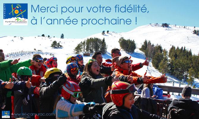 Station de Ski de Camurac - Saison 2015