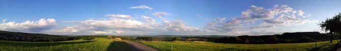Panorama-Ansicht Waldhölzbach - zum Vergrößern anklicken