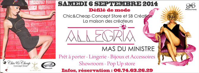 Chic & Cheap Concept-Store, SB Création, Arnaud Caravielhe