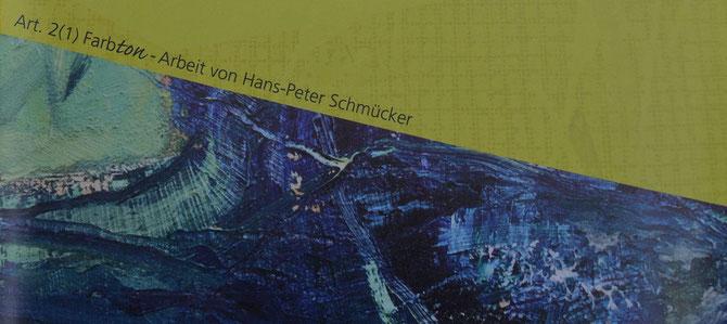 Farbton - Art. 2(1) - Ausschnitt vom ARThaus-Flyer