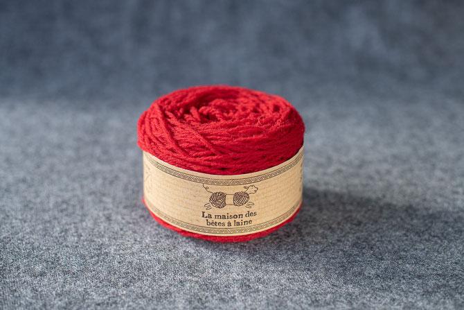 Pure laine des Alpes françaises      Pelote coloris soleil de Cervières 50grs 130m aig. 3-4
