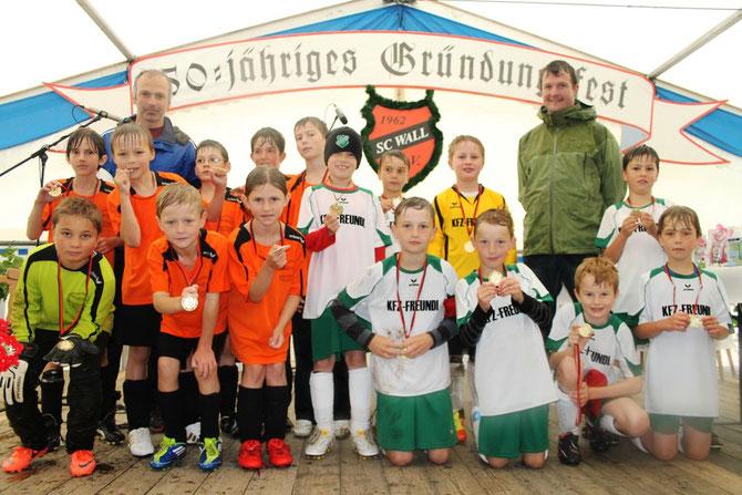Spiel gegen SV Warngau am 9. Juni 2012